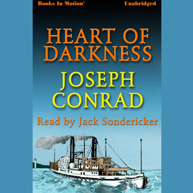 Printable Heart of Darkness Audiobook Cover Art