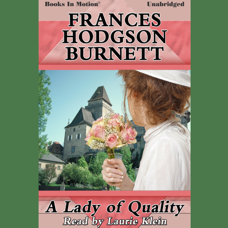 Printable A Lady of Quality Audiobook Cover Art