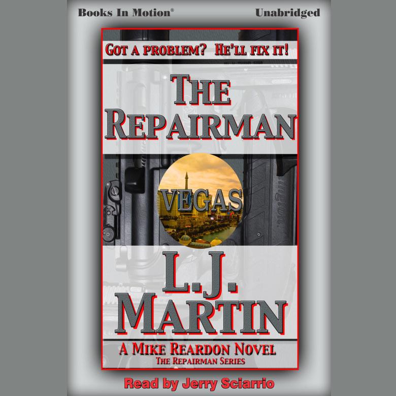 Printable The Repairman Audiobook Cover Art