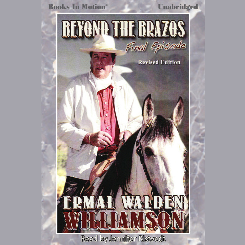 Printable Beyond The Brazos Audiobook Cover Art