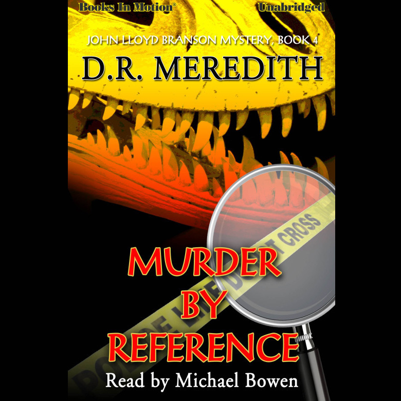 Printable Murder By Reference Audiobook Cover Art