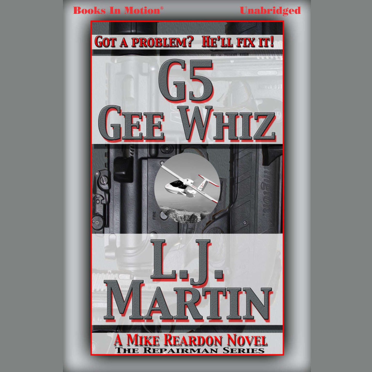 Printable G5 Gee Whiz Audiobook Cover Art