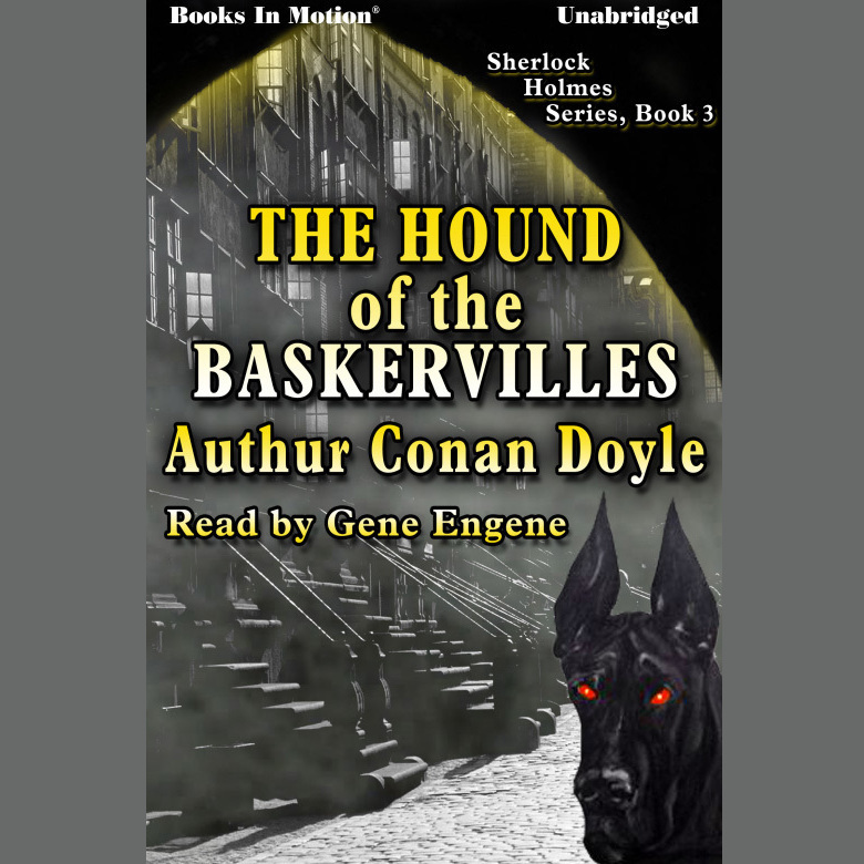 Printable Hound of the Baskervilles Audiobook Cover Art