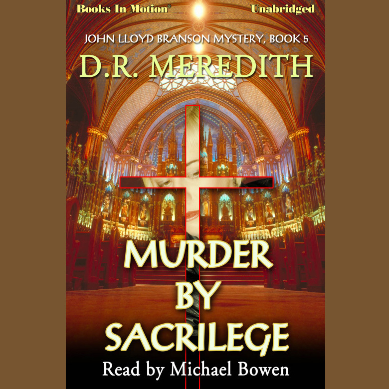Printable Murder By Sacrilege Audiobook Cover Art