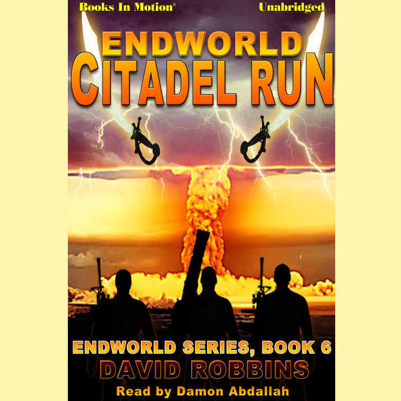 Printable Endworld: Citadel Run Audiobook Cover Art