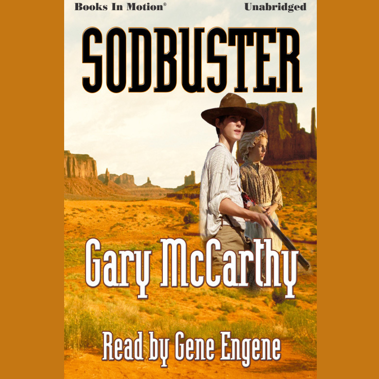 Printable Sodbuster Audiobook Cover Art