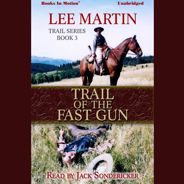 Printable Trail of The Fast Gun Audiobook Cover Art