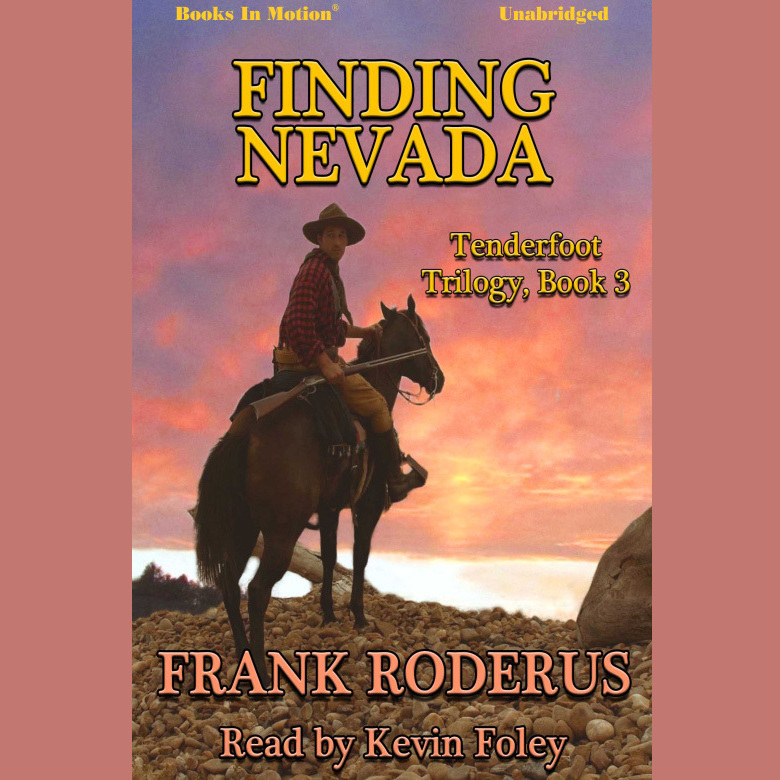 Printable Finding Nevada Audiobook Cover Art