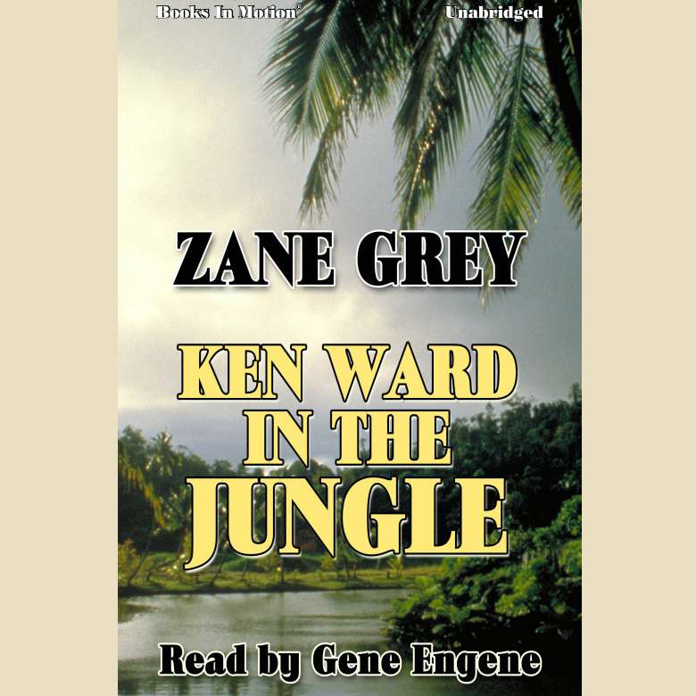 Printable Ken Ward in the Jungle Audiobook Cover Art