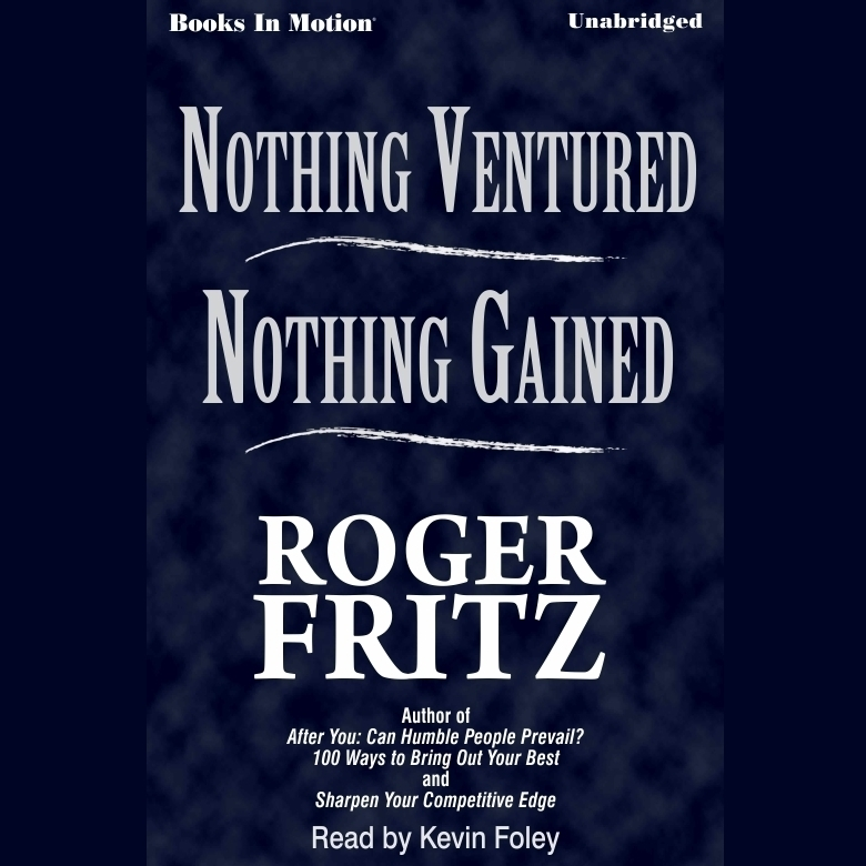 Printable Nothing Ventured Nothing Gained Audiobook Cover Art