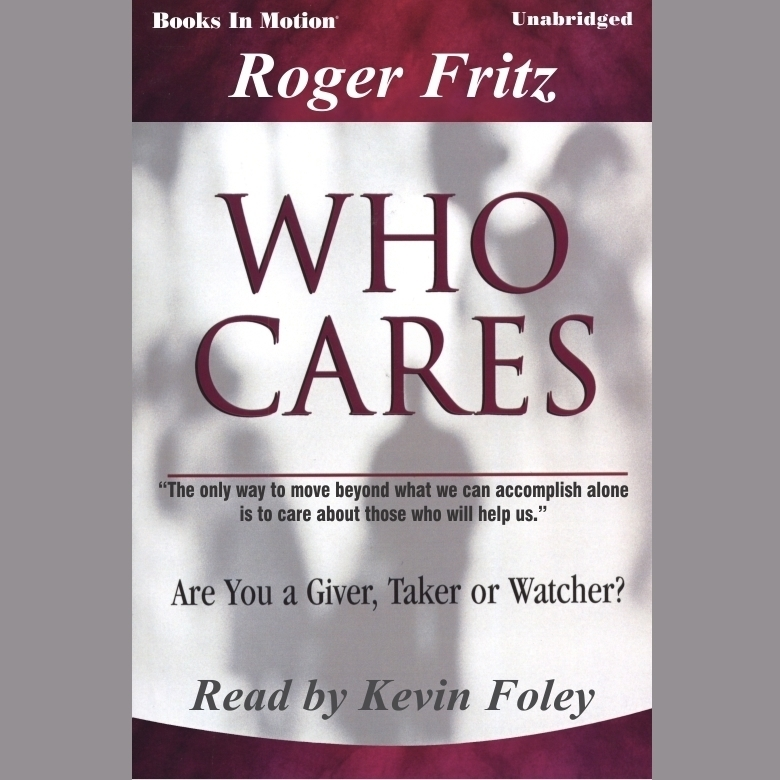 Printable Who Cares Audiobook Cover Art