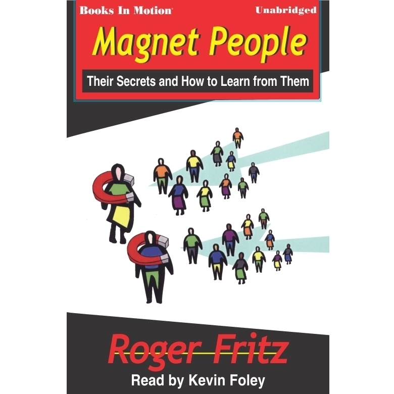 Printable Magnet People Audiobook Cover Art