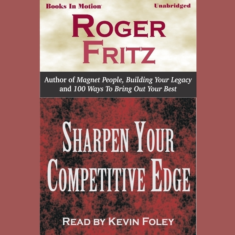 Printable Sharpen Your Competitive Edge Audiobook Cover Art