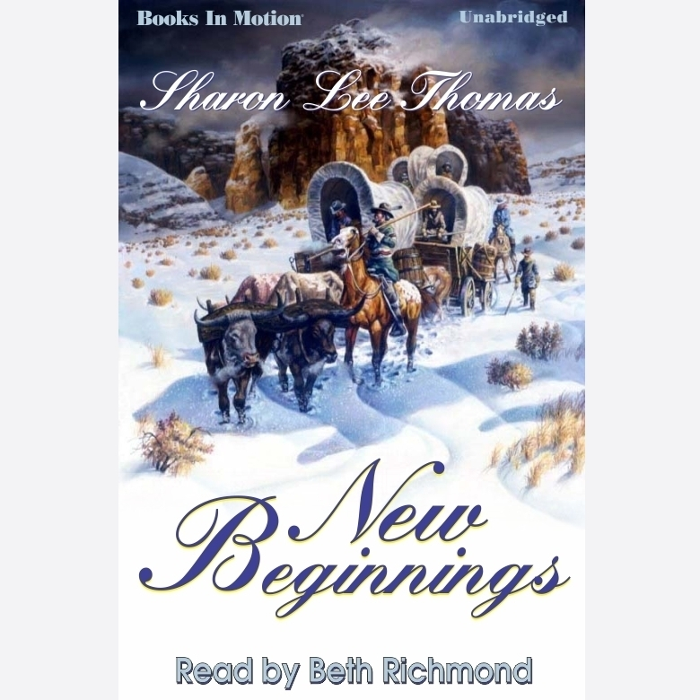 Printable New Beginnings Audiobook Cover Art