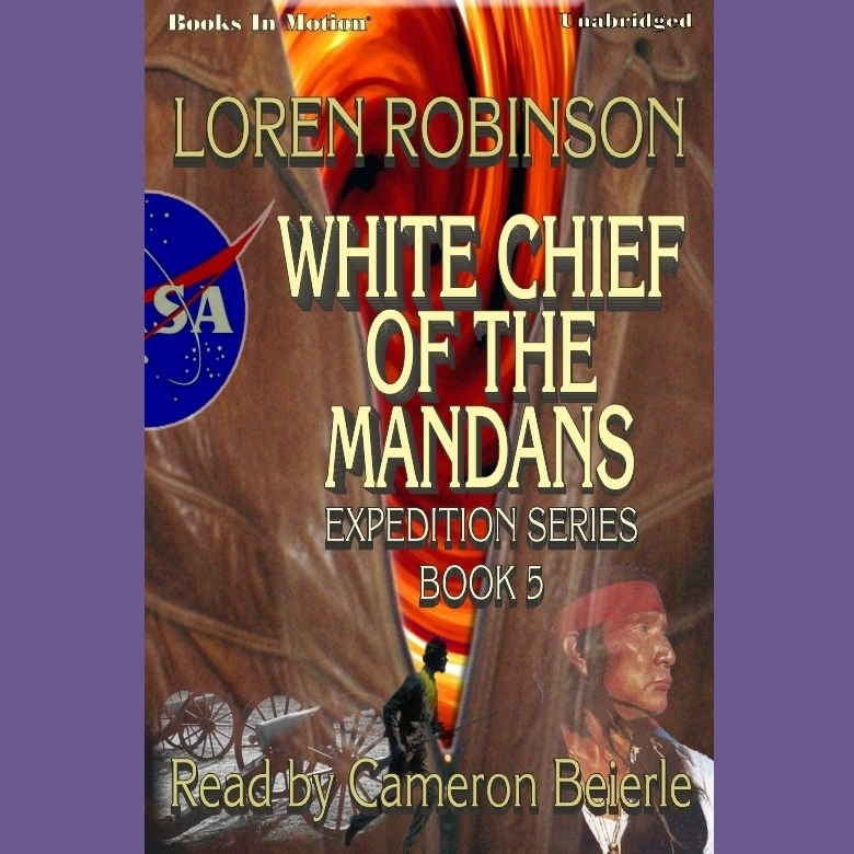 Printable White Chief Of The Mandans Audiobook Cover Art