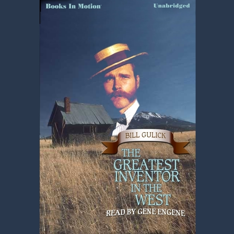 Printable Greatest Inventor In The West ,The Audiobook Cover Art