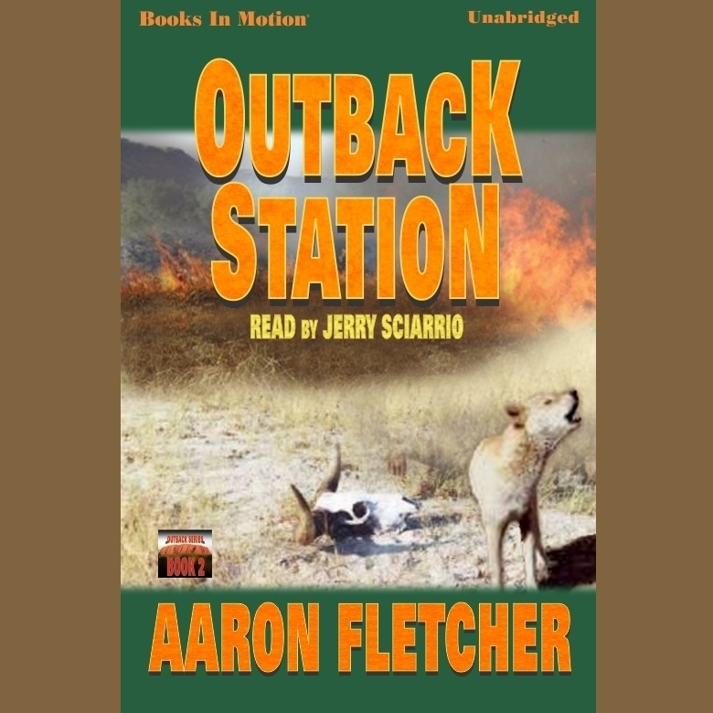 Printable Outback Station Audiobook Cover Art