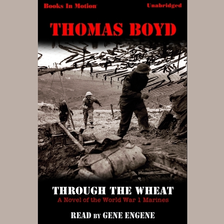 Printable Through The Wheat Audiobook Cover Art