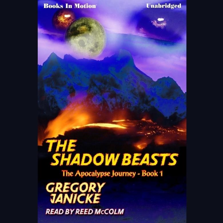 Printable The Shadow Beasts Audiobook Cover Art