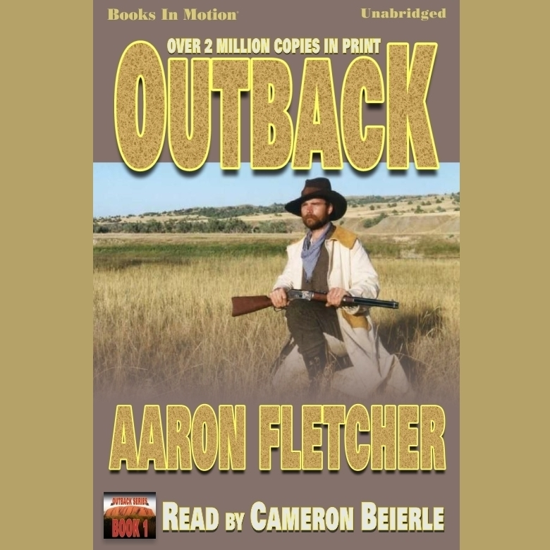 Printable Outback Audiobook Cover Art
