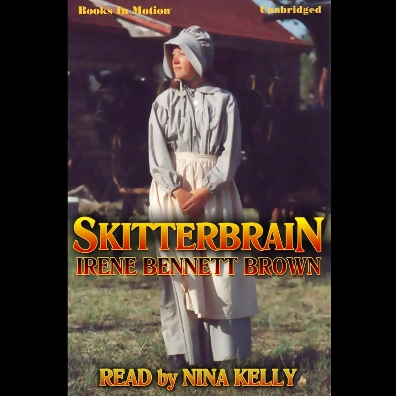 Printable Skitterbrain Audiobook Cover Art