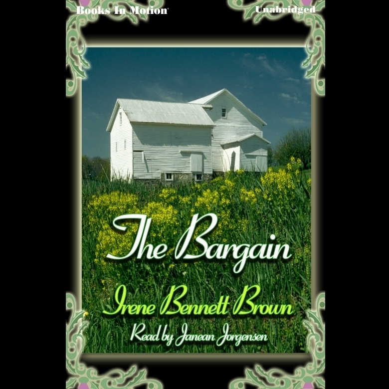 Printable The Bargain Audiobook Cover Art