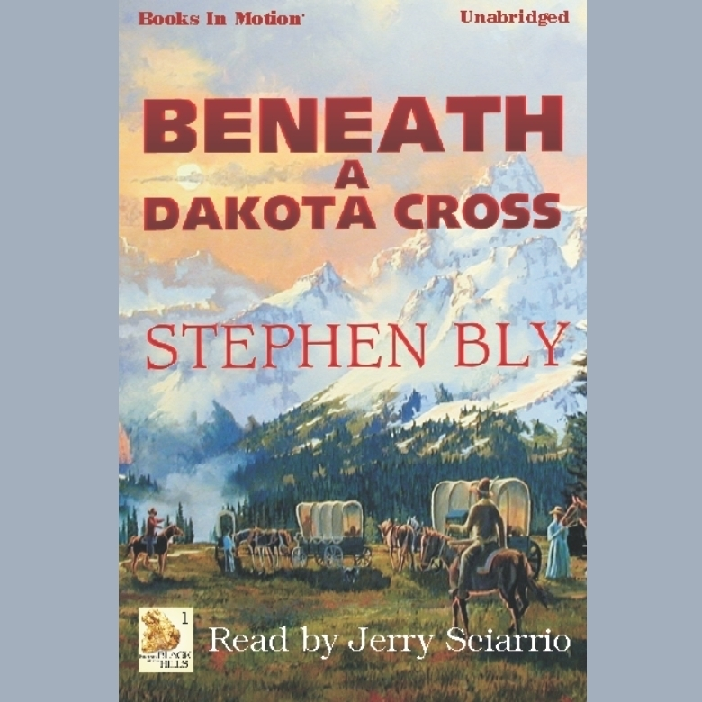 Printable Beneath a Dakota Cross Audiobook Cover Art