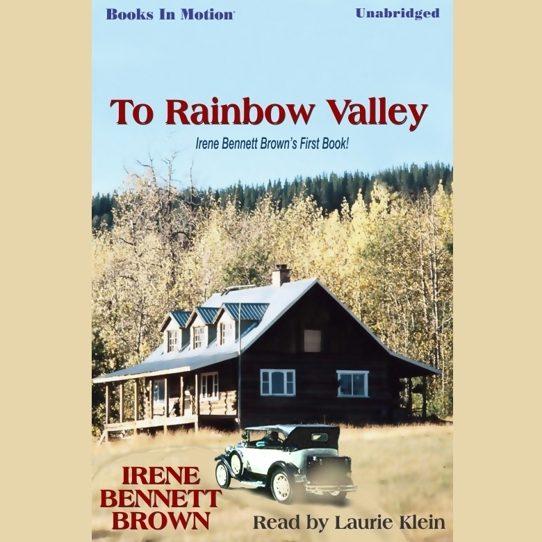Printable To Rainbow Valley Audiobook Cover Art