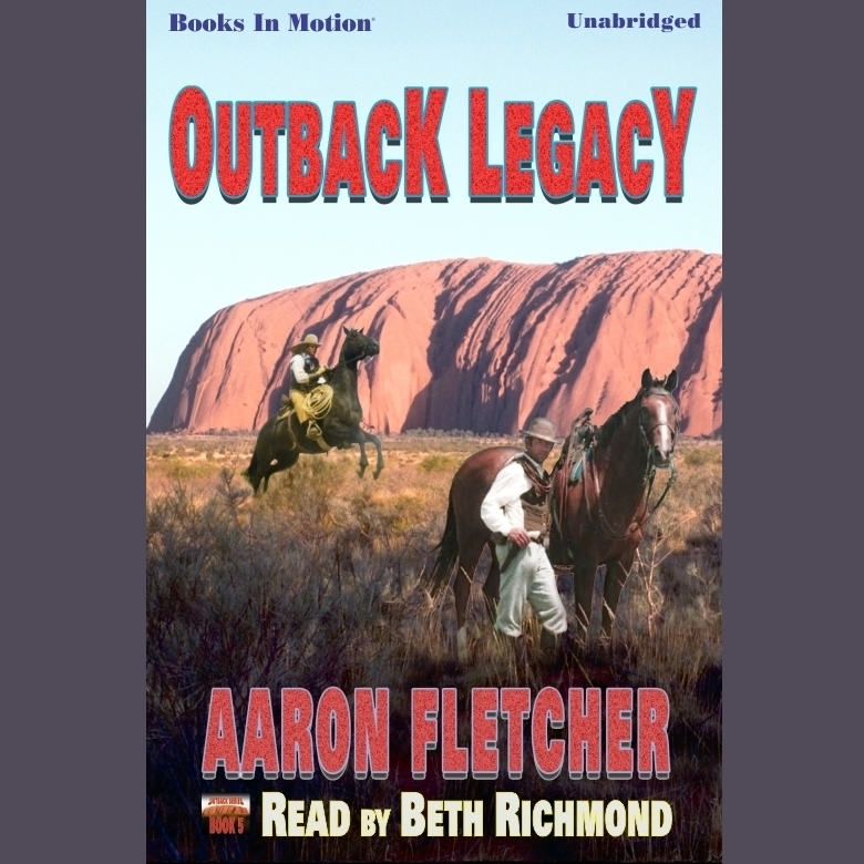 Printable Outback Legacy Audiobook Cover Art