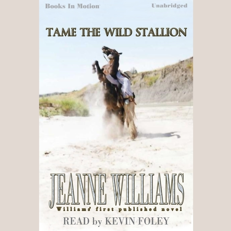 Printable Tame The Wild Stallion Audiobook Cover Art