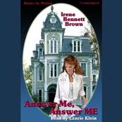 Answer Me Answer Me Audiobook, by Irene Bennett Brown