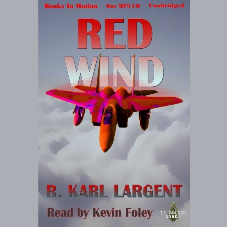 Printable Red Wind Audiobook Cover Art