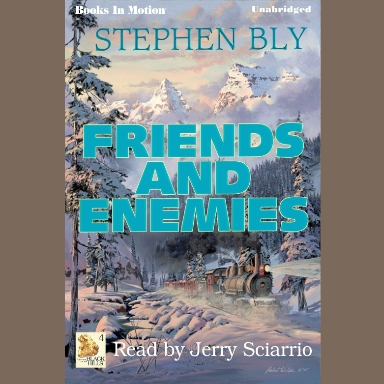 Printable Friends And Enemies Audiobook Cover Art