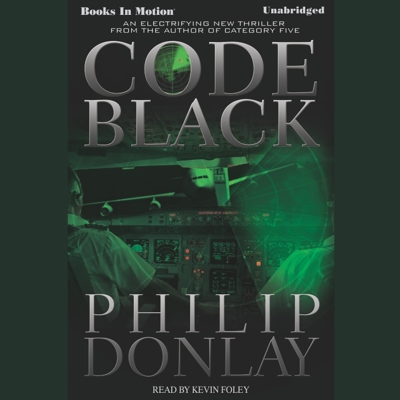 Printable Code Black Audiobook Cover Art
