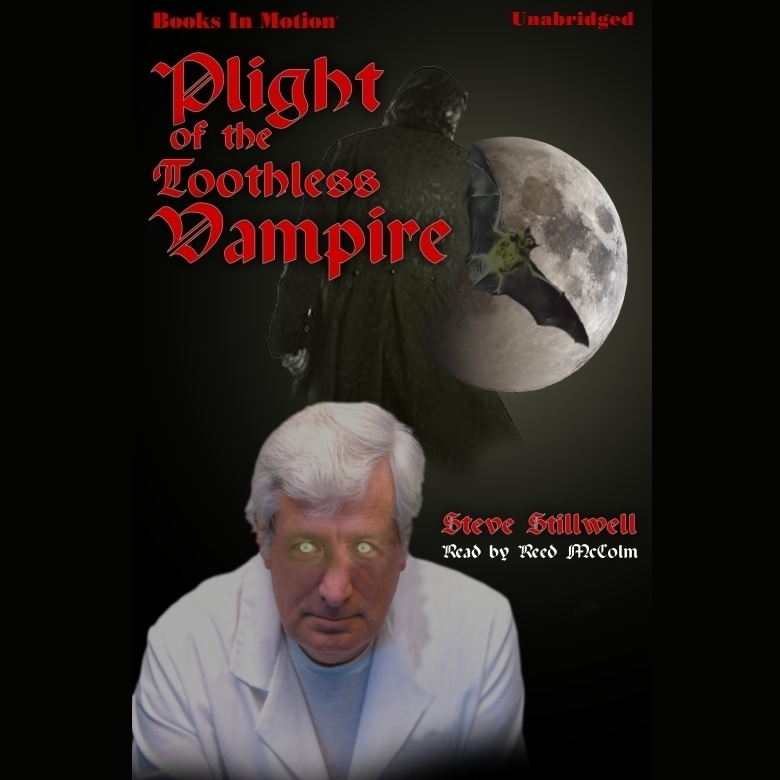 Printable Plight of the Toothless Vampire Audiobook Cover Art