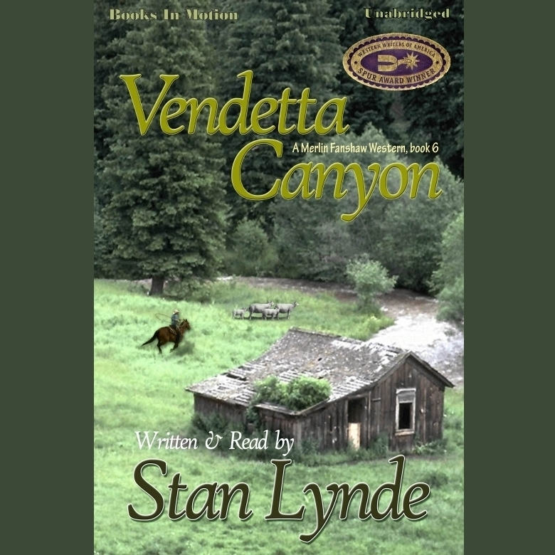 Printable Vendetta Canyon Audiobook Cover Art