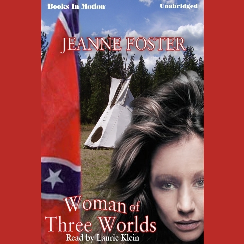 Printable Woman of Three Worlds Audiobook Cover Art