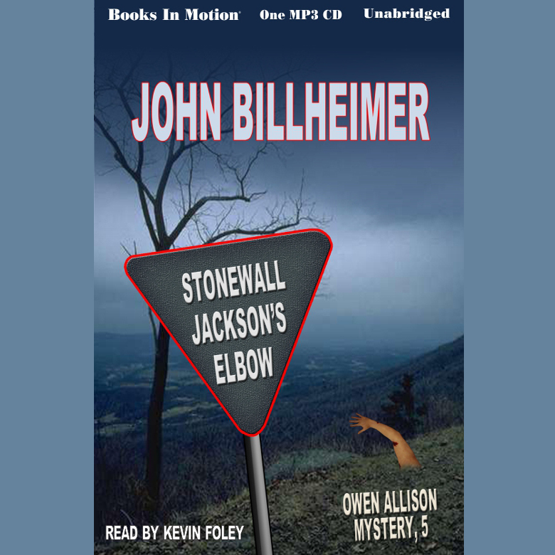 Printable Stonewall Jackson's Elbow Audiobook Cover Art