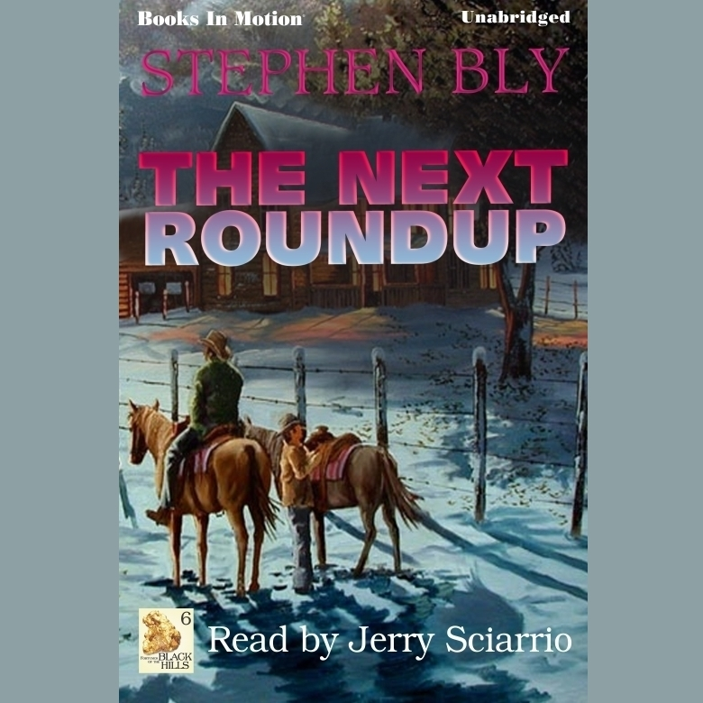 Printable The Next Roundup Audiobook Cover Art