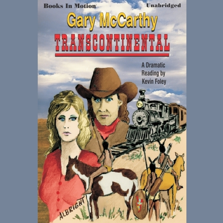 Printable Transcontinental Audiobook Cover Art