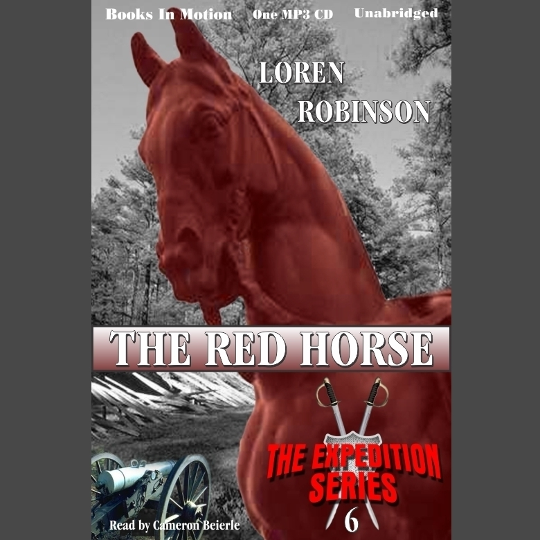 Printable The Red Horse Audiobook Cover Art