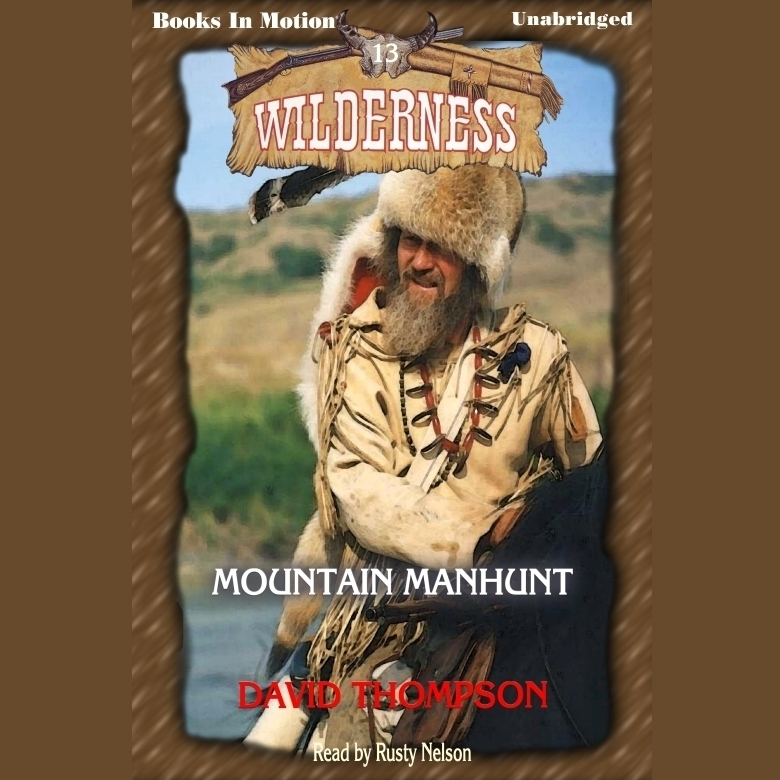 Printable Mountain Manhunt Audiobook Cover Art