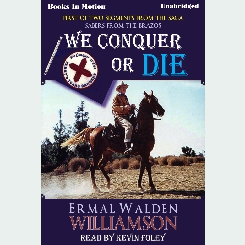 Printable We Conquer Or Die Audiobook Cover Art
