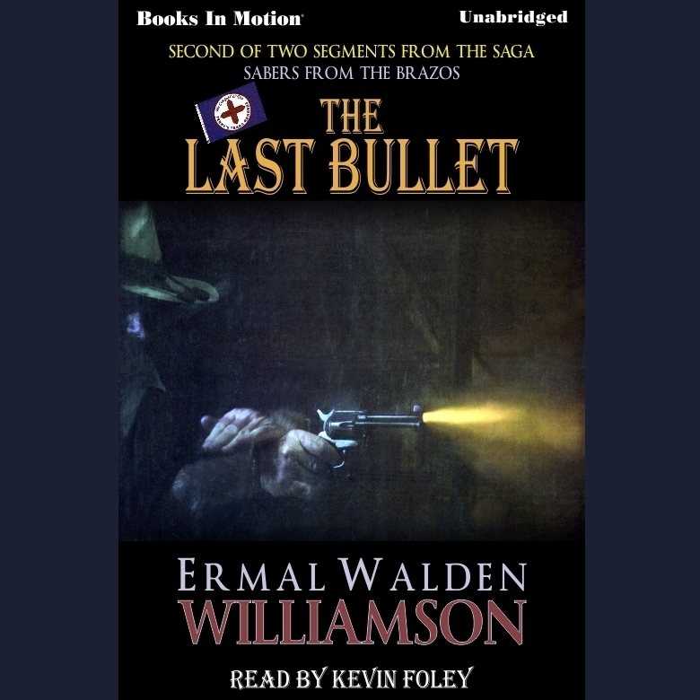 Printable The Last Bullet Audiobook Cover Art