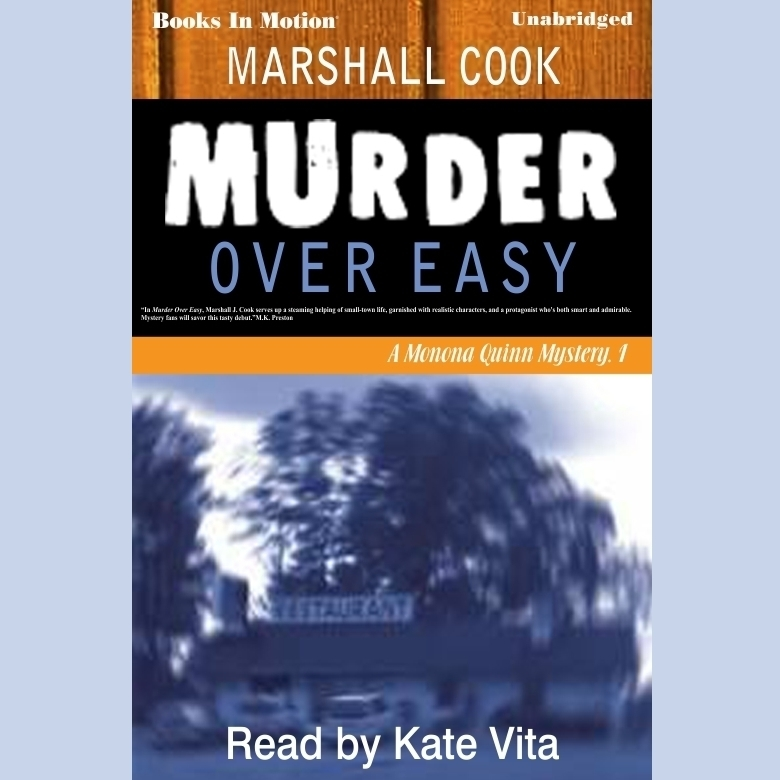 Printable Murder Over Easy Audiobook Cover Art