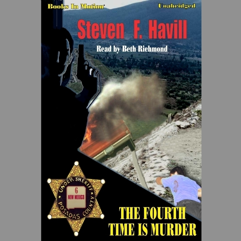 Printable The Fourth Time is Murder Audiobook Cover Art