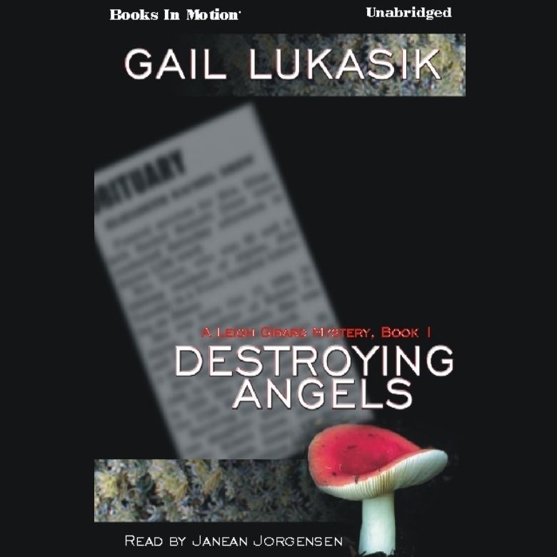 Printable Destroying Angels Audiobook Cover Art