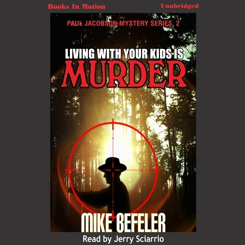Printable Living With Your Kids Is Murder Audiobook Cover Art