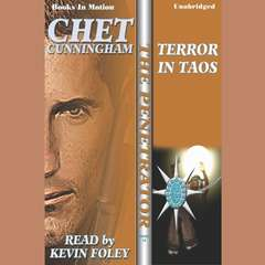 Terror In Taos Audiobook, by Chet Cunningham