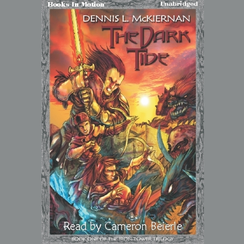 Printable The Dark Tide Audiobook Cover Art